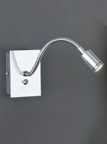 Franklite WB930 Chrome Wall Light